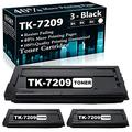 Compatible 3 Black TK-7209 (1T02NL0CS0) Ink Cartridge Replacement for Kyocera/Copystar CS-3510i Printer Cartridges,Sold by TopInk