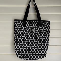 Michael Kors Bags | Michael Kors Reversible Tote Bag | Color: Black/White | Size: Os