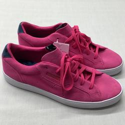 Adidas Shoes | Adidas Originals Sleek Womens Girls Casual Sneaker | Color: Pink/White | Size: 11