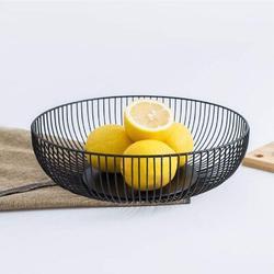 17 Stories Fruit Basket For Kitchen,Fruit Basket w/ Banana Hanger,Modern Fruit & Vegetable Bread Storage Holder For Kitchen Countertop Decoration