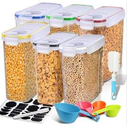 Prep & Savour Cereal Container, Our Airtight Dry Food Storage Containers, BPA Free Large Kitchen Pantry Storage Container For Flour, Snacks in Green