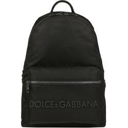 Logo Backpack - Black - Dolce & Gabbana Backpacks
