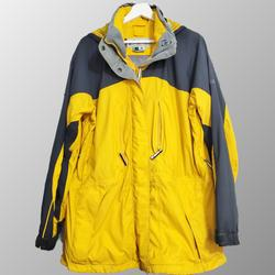 Columbia Jackets & Coats   Columbia Women'S Full Zip Windbreaker Jacket   Color: Blue/Yellow   Size: Xl
