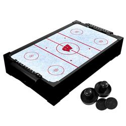 Wisconsin Badgers Table Top Air Hockey Game