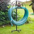 Amagabeli Garden Hose Holder Stand Freestanding Holds 125Ft Water Hose Detachable For Outside Garden Lawn Yard BronzeMetal | Wayfair BG399