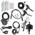 36V Hub Motor Kit, 36V 250W Efficiency Wheel Hub Motor Kit for DIY Electric Bicycles for 26in 12G Wheel(Rear Drive Card Fly, Pisa Leaning Tower Type)