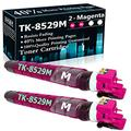 Compatible 2 Magenta TK-8529M Ink Cartridge Replacement for Kyocera/Copystar CS-3552ci 4052ci TASKalfa 3552ci 4052ci Printer Cartridges,Sold by TopInk