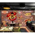 Photo Wallpaper 3D Effect Retro Painting Graffiti Living Room Bedroom Mural Wallpaper 3D Hd 3D Mural Decoration Wallpaper Wall Sticker Border -300x210CM(LxH)-XXL