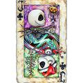 5D Diamond Painting Kit for Adults Kids,DIY Full Round Drill Crystal Gem Rhinestone Painting,Cross Stitch Embroidery Mosaic Craft,Home Decor,Halloween Boy Skeleton,Nightmare Before Christmas 40x50cm