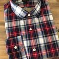 J. Crew Shirts | J.Crew: Men'S M; Rednavy Plaid Ls Dress Shirt | Color: Red | Size: M