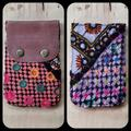 Free People Accessories   Free People Boho Embroidered Repurposed Wallet   Color: Brown/Purple   Size: Os