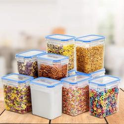 Prep & Savour Airtight Food Storage Containers By It, BPA FreeCereal & Dry Food Storage Containers Set Of 24 For Kitchen Pantry Organization in Blue