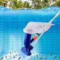 Inforin Portable Pool Vacuum Cleaner Jet Underwater Cleaner Swimming Pool Fountains Vacuum Head Brush Cleaning Tools Pool, SPA and Fountain Portable Swimming Pool Fountain Vacuum Brush Cleaner