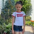 Levi's Shirts & Tops   Girls Levis T Shirt 6x And Old Navy Short 6 Set   Color: Red/White   Size: 6xg