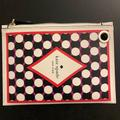 Kate Spade Accessories | Kate Spade Ace Of Spades Wristlet Wallet | Color: Black/Red | Size: Os