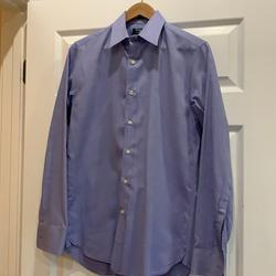 J. Crew Shirts | J. Crew 80s 2-Ply Thompson Shirtings By J. Crew | Color: Blue | Size: 14.5