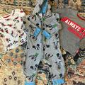 Disney Shirts & Tops | 2 Disney 9-12 Month Micky Mouse Shirts & Jumpsuit | Color: Gray/White | Size: 9-12mb
