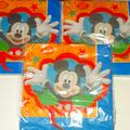 Disney Other | Mickey Mouse Party Napkins | Color: Blue/Red | Size: Osbb