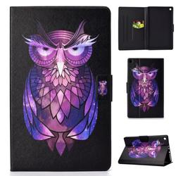 Kindle Fire HD8 2016/2017/2018 Case, Allytech PU Leather Folio Multi Angles Stand Smart Cover for All New Amazon Kindle HD 8 Tablet(8th/7th/6th Generation,2018/2017/2016 Releases), Owl