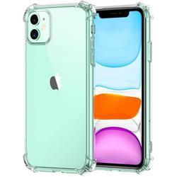 Njjex iPhone 11 / iPhone XR / iPhone 12 Pro Max Case, Njjex iPhone 11 Pro Max Crystal Clear Shock Absorption Technology Bumper Soft TPU Cover Case For Apple iPhone 11, 12 Mini, 12 Pro Max