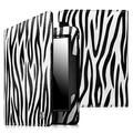 Fintie Folio Case for Amazon Kindle Voyage 2014 - PU Leather Book Style Case Cover with Auto Sleep/Wake, Zebra Black