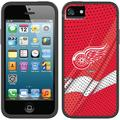 Detroit Red Wings Home Jersey Design on Apple iPhone 5SE/5s/5 Switchback Case by Coveroo