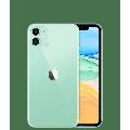 """Apple iPhone 11 - Smartphone - dual-SIM - 4G Gigabit Class LTE - 64 GB - 6.1"""" - 1792 x 828 pixels (326 ppi) - Liquid Retina HD display (12 MP front camera) - 2x rear cameras - AT&T - green"""