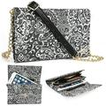 Timeless Black Paisley Weekender Crossbody Bag For Samsung Galaxy Grand 2, Grand Neo, GALAXY GRAND Prime, Grand Max Phone Cases and Covers