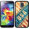 USA Vintage Ripped Flag Design on Samsung Galaxy S5 Thinshield Case by Coveroo