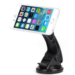 Holder Magnetic Car Mount for LG Stylo 5 - [Dash Windshield Rotating Strong Grip Strong Magnets]