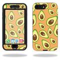 MightySkins Protective Vinyl Skin Decal for Lifeproof Nuud iPhone 7 Plus sticker wrap cover sticker skins Orange Avocados