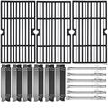 Grill Valueparts Parts for Nexgrill 720-0898 Replacement Parts 720-0898A Grill Grates 720-0898 Burner 720-0898 Flame Tamer Heat Plates Shields Nexgrill Parts