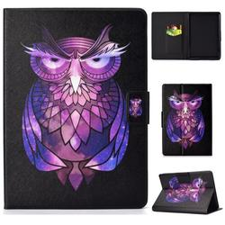Kindle Paperwhite Wallet Case, Allytech PU Leather Folio Multi Angles Stand Smart Cover for All-New Kindle Paperwhite (Fits All 2012, 2013, 2015 and 2016 Versions), Owl