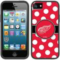 Detroit Red Wings Polka Dots Design on Apple iPhone 5SE/5s/5 Switchback Case by Coveroo
