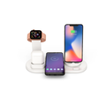 Cyber Monday!!Wireless Charger, 3 in 1 Wireless Charging Stand,Charging Station for Multiple Devices, Qi Fast Wireless Charging Dock Compatible iPhone X/XS/XR/Xs Max/8/8 Plus/Airpods
