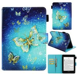 """Case for Kindle Paperwhite 6"""", Allytech PU Leather Smart Folio Stand Cover with Auto Wake/Sleep - Fits All-New Amazon Kindle Paperwhite (Fits All Generations), Butterfly"""