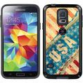 USA Vintage Ripped Flag Design on Samsung Galaxy S5 CandyShell Case by Speck