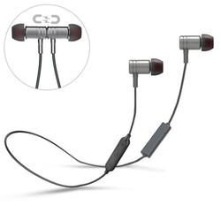 Earphones Sports Wireless Headset With Microphone Neckband Headphones L4M for Samsung Galaxy Tab S5e 10.5 S4 10.5 S 10.5 SM-T800 Sky S9 Plus, J7 V (2017), S7 Edge, Grand Prime, Perx, S6 Edge+