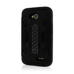 LG Optimus L70 Case, MPERO IMPACT XL Series Kickstand LG Optimus LCase for LG Optimus L70 / Realm - Black
