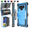 """Njjex Case For 2018 Galaxy Note 9 6.4"""", Galaxy Note 9 Case Holster Blet Clip, Njjex [Blue] Heavy Duty Protection Kickstand + Holster Belt Clip Carrying Armor Case Cover Galaxy Note 9 (2018)"""
