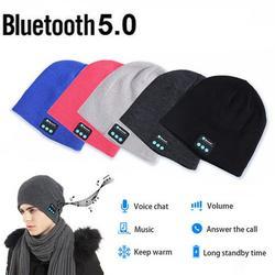 Wireless Bluetooth Beanie Music Smart Hat Cap Warm Beanie With Headphone Earphone Headset Ear Warmers Music Beanie