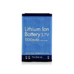 Replacement LG LGIP-A1100 Li-ion Mobile Phone Battery - 1100mAh / 3.7v