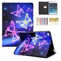 """iPad 9.7 inch 2018 2017 Case/iPad Air Case/iPad Air 2 Case/iPad Pro 9.7 Case, Dteck PU Leather Folio Smart Cover with Auto Sleep Wake Stand Wallet Case For iPad 9.7"""" (Not fit iPad 2 3 4),Butterfly"""