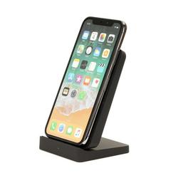 iHome Wireless Charging Stand: Qi Certified Fast Charge Station: 7.5W for iPhone 11, 11 Pro, 11 Pro Max, XR, Xs Max, XS, X, 8, 8 Plus, or 10W Galaxy S10 S9, Note 10 Note 9