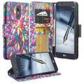 Cute Girls Women Pu Leather Wallet Case for LG Stylo 4 Case, LG Stylo 4 Plus Case [Kickstand] ID&Credit Card Slot Phone Case For LG Stylo 4/Stylo 4 Plus- Rainbow