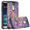 LG Aristo 2 Plus, LG Aristo 2,LG K8 Plus, LG K8 2018,LG Risio 3,LG Fortune 2,LG ,Rebel 3,LG Zone 4 Case Protective Hybrid Diamond Soft Silicone Phone Case Cover for Girls Women - Rainbow