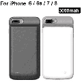 iPhone 6 Battery Case, Exgreem 4000mAh Ultra Thin Rechargeable Portable Power Charging Case for iPhone 6 Extended Battery Pack Power Bank Charger Case (Black)