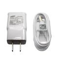 Original Samsung Charger - EP-TA20JWE Adaptive Fast Charging Adapter and EP-DG925UWE Fast Charging MicroUSB Data Cable - 100% OEM Brand NEW in Non-Retail Packaging