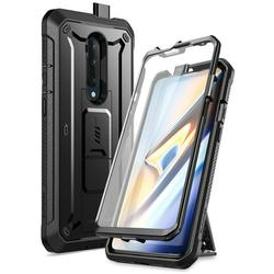 SUPCASE Unicorn Beetle Pro Series Case Designed for OnePlus 7T Pro, Built-in Screen Protector Full-Body Rugged Holster Case for OnePlus 7T Pro(Black)