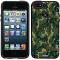 Camo Green Design on Apple iPhone 5SE/5s/5 CandyShell Case by Speck